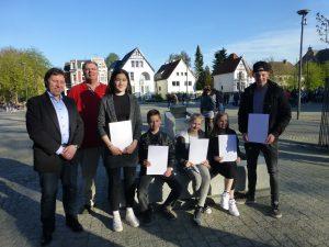 DTB Ju-Jutsuka bei Sportler Ehrung der Stadt Delmenhorst 21 04 2016