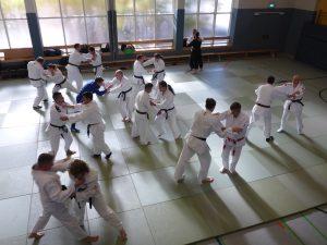 Ju-Jutsu Trainingsbeginn nach Corona-Auszeit