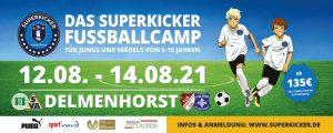 Pressemitteilung zu unserem SUPERKICKER-Fußballcamp 2021