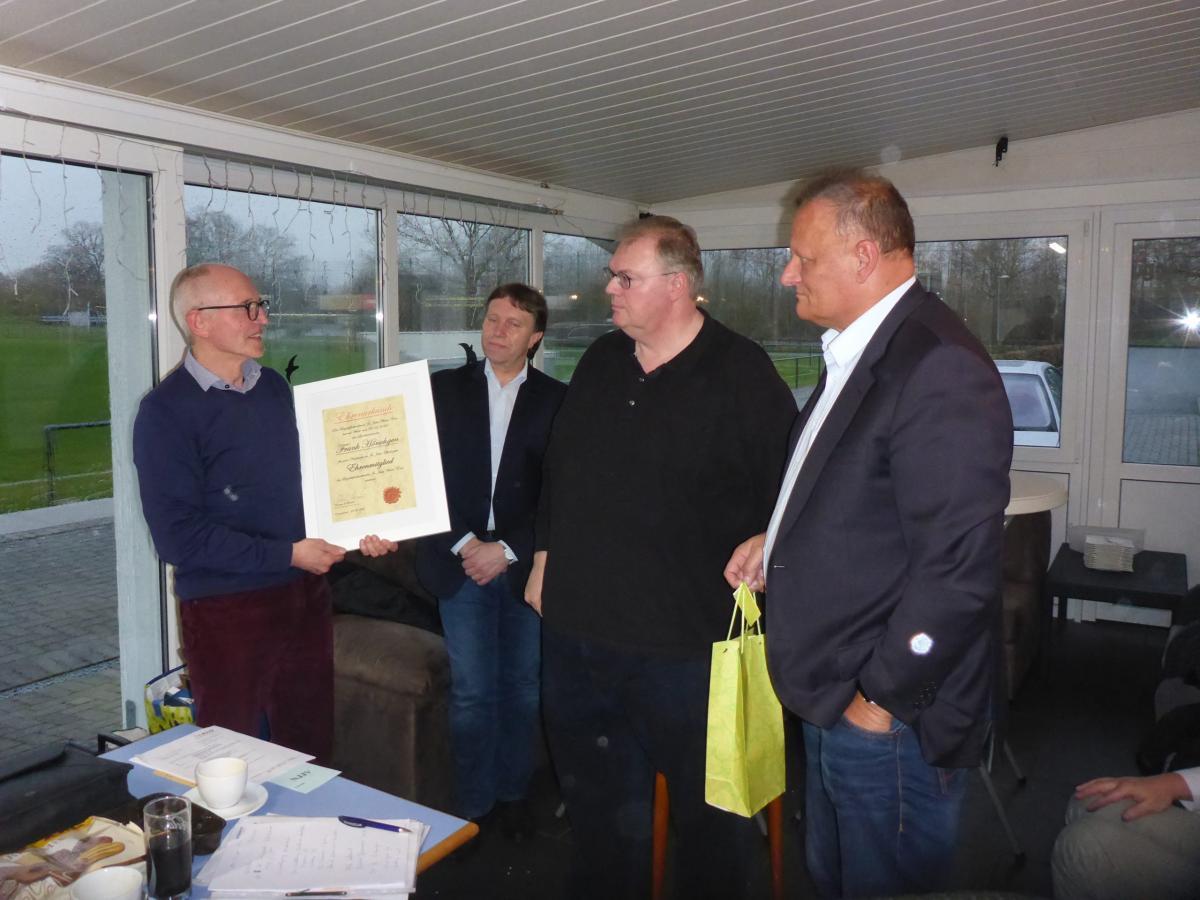 Ehrenmitglied Frank Hörschgen