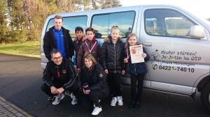 Das DTB Team tritt im Vereinsbus zufrieden die Rückreise an